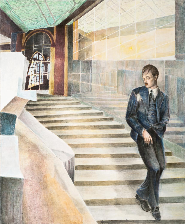 Bernhard Brungsoil on canvas2010
