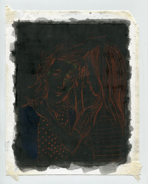 Susan Sontag Mitsuko Uchida Drawing 2012